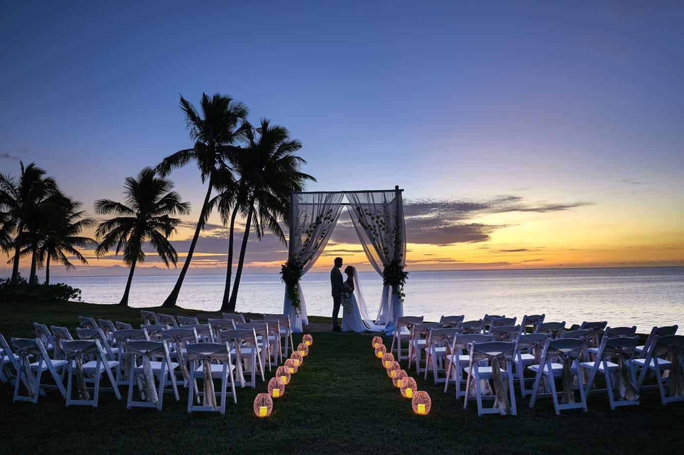 FIji wedding-marriot hotel