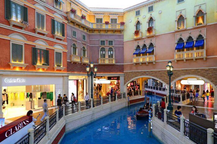 Macau, hotel og casino the Venetian
