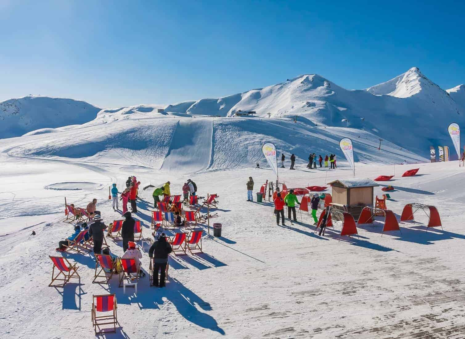 Ski resort Livigno