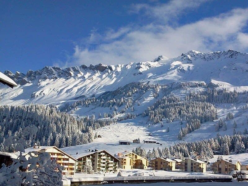 Lenzerheide-Ort-Schweiz