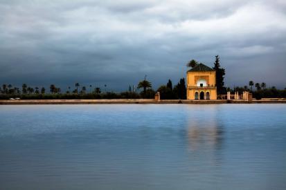 Intro til Marokko, Menara Garden, Marrakesh, Marocco