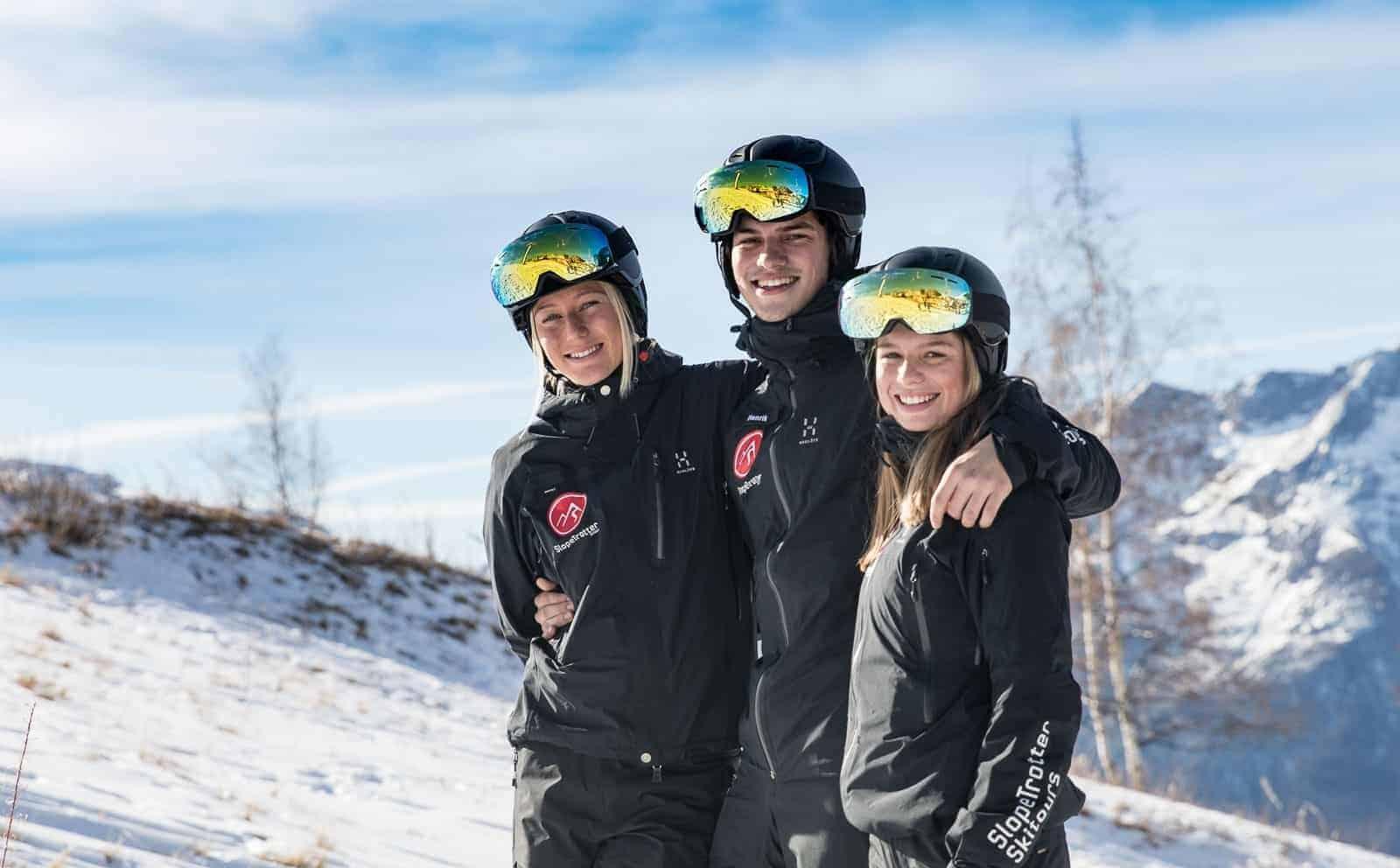 Vælg din skiferie i Alperne