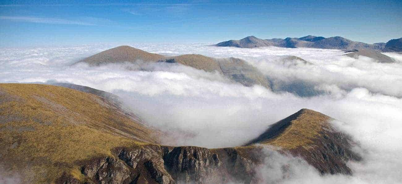 Snowdonia bjergtoppe
