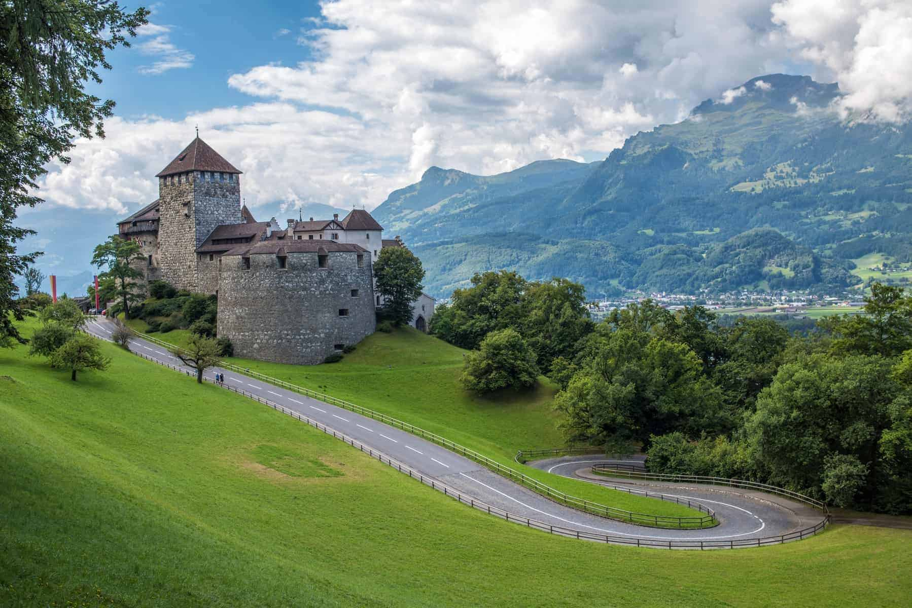 Vaduz Castle, the palace of the Liechtenstein Prince
