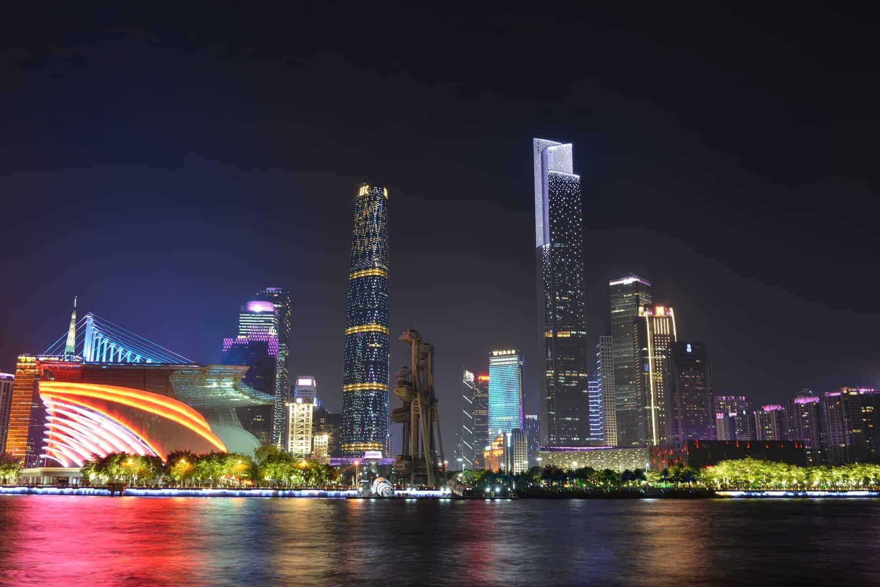 Guangzhou International Finance Centre & CTF Finance Centre, called Twin Towers, are landmarks in Guangzhou City, which are located in the central axis of the city in Zhujiang New Town.