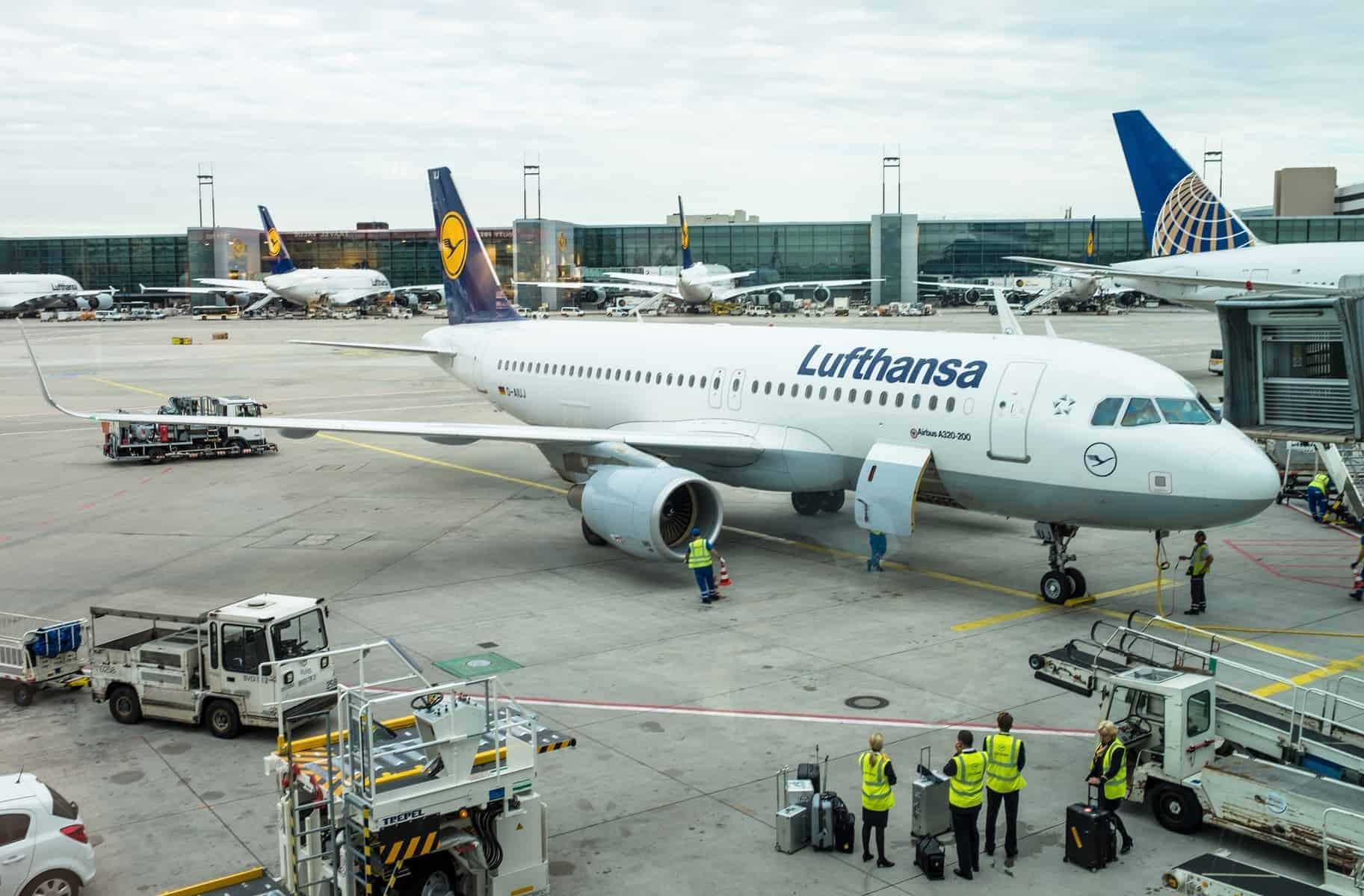 Frankfurt lufthavn TYsklands største lufthavn