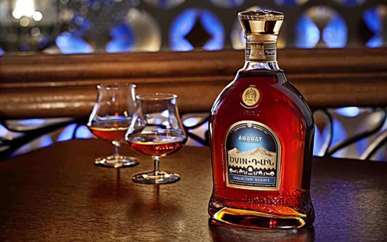 Cognac from Armenia