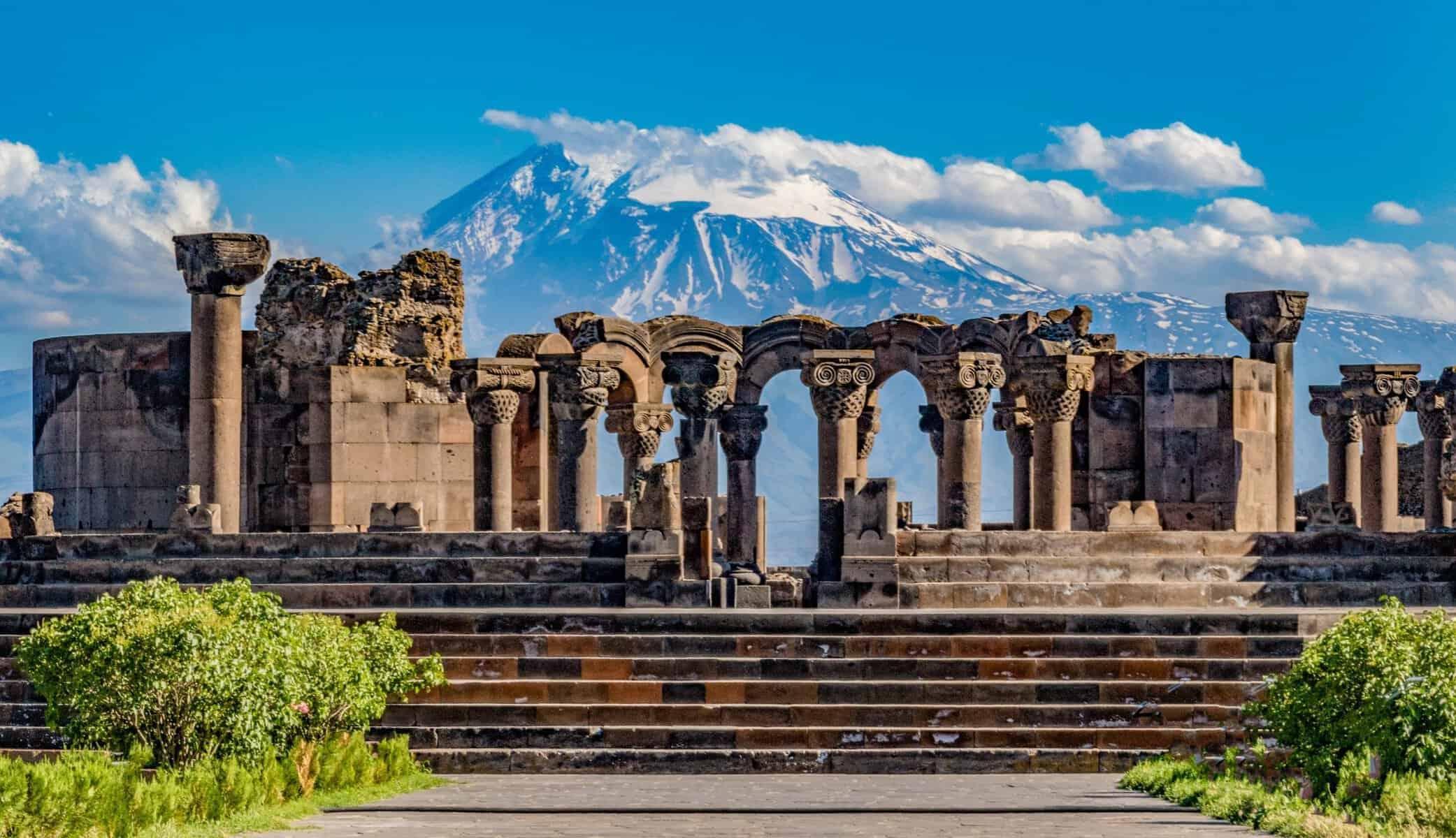 Rejse til Armenien. Jerevan.