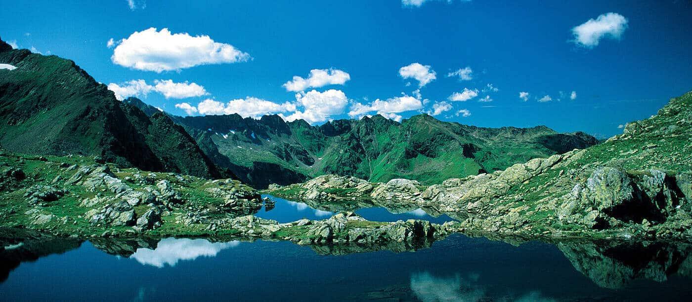 Bjergvandringer i Østrig