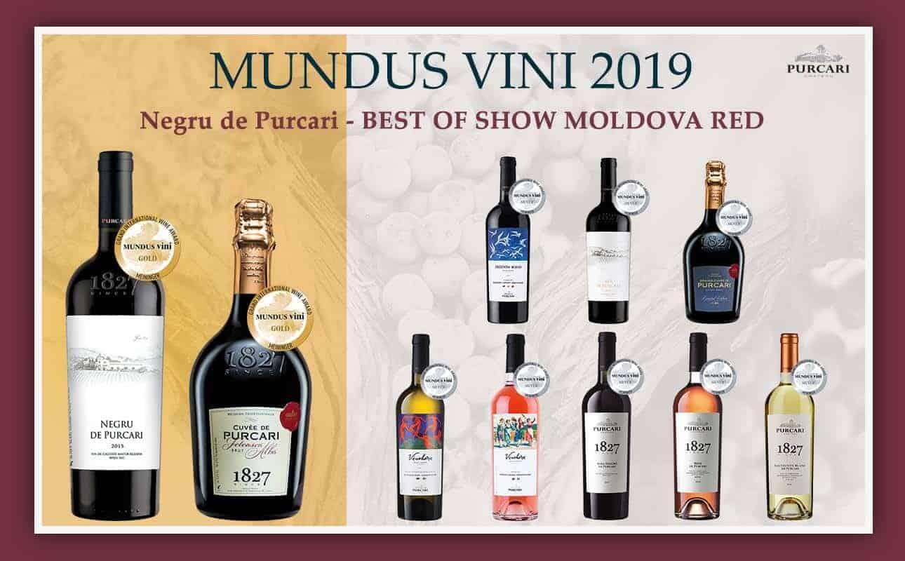 Moldova Purcari wines