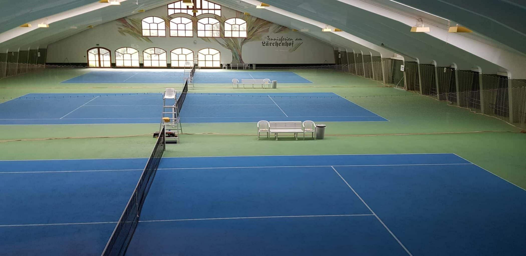 Laerchenhof indoor tennis