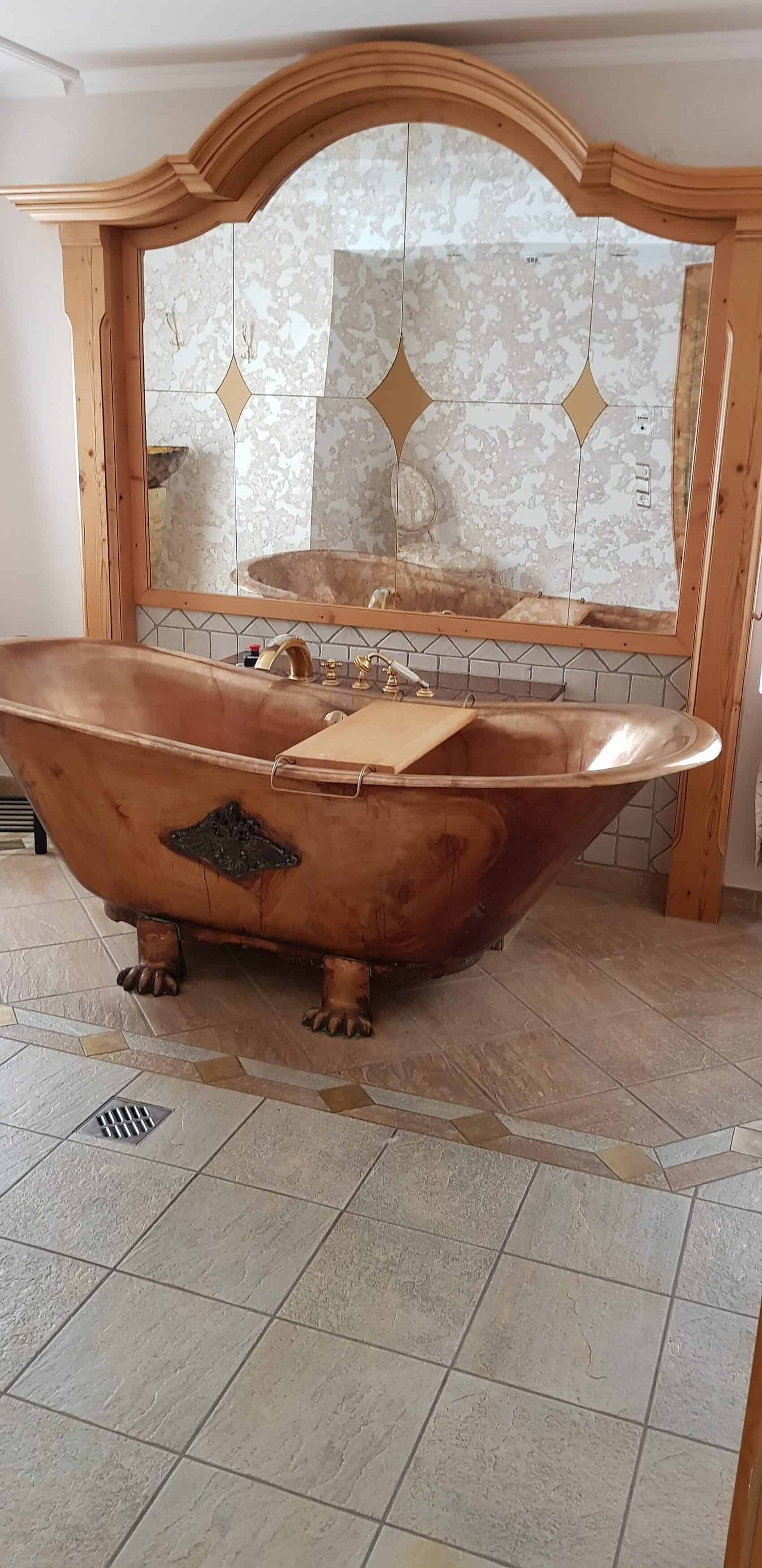 Lärchenhof wellness tub