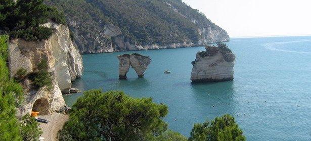Apulia coastline