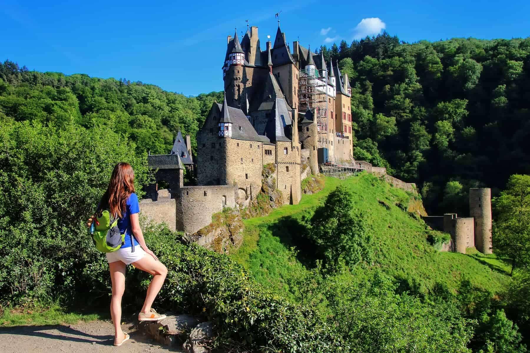 Eltz Castle in Rhineland