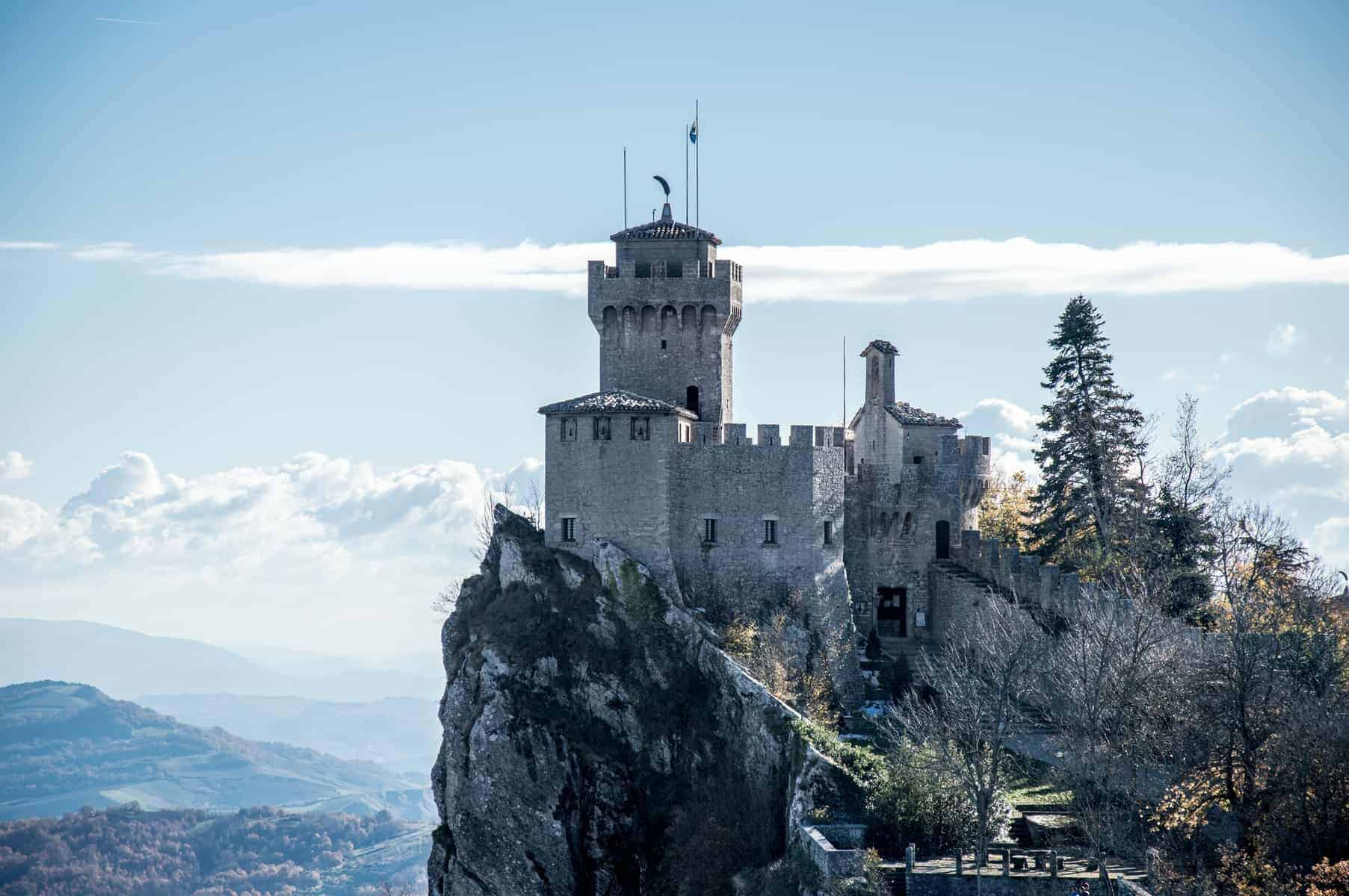 San Marino Cesta Tower