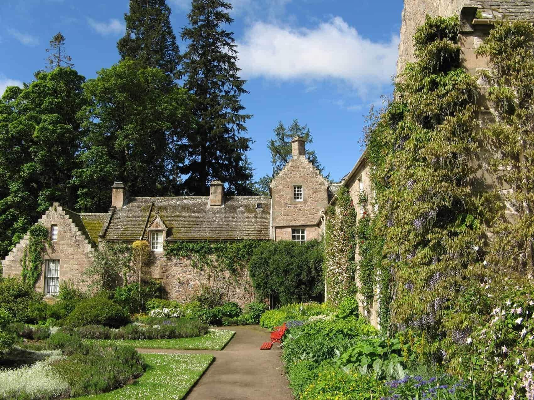 Cawdor Castle Scotland garden