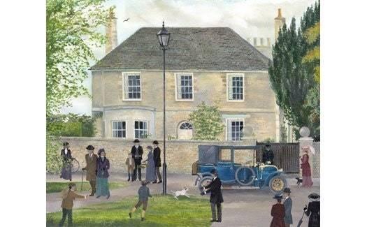 Downton abbey village