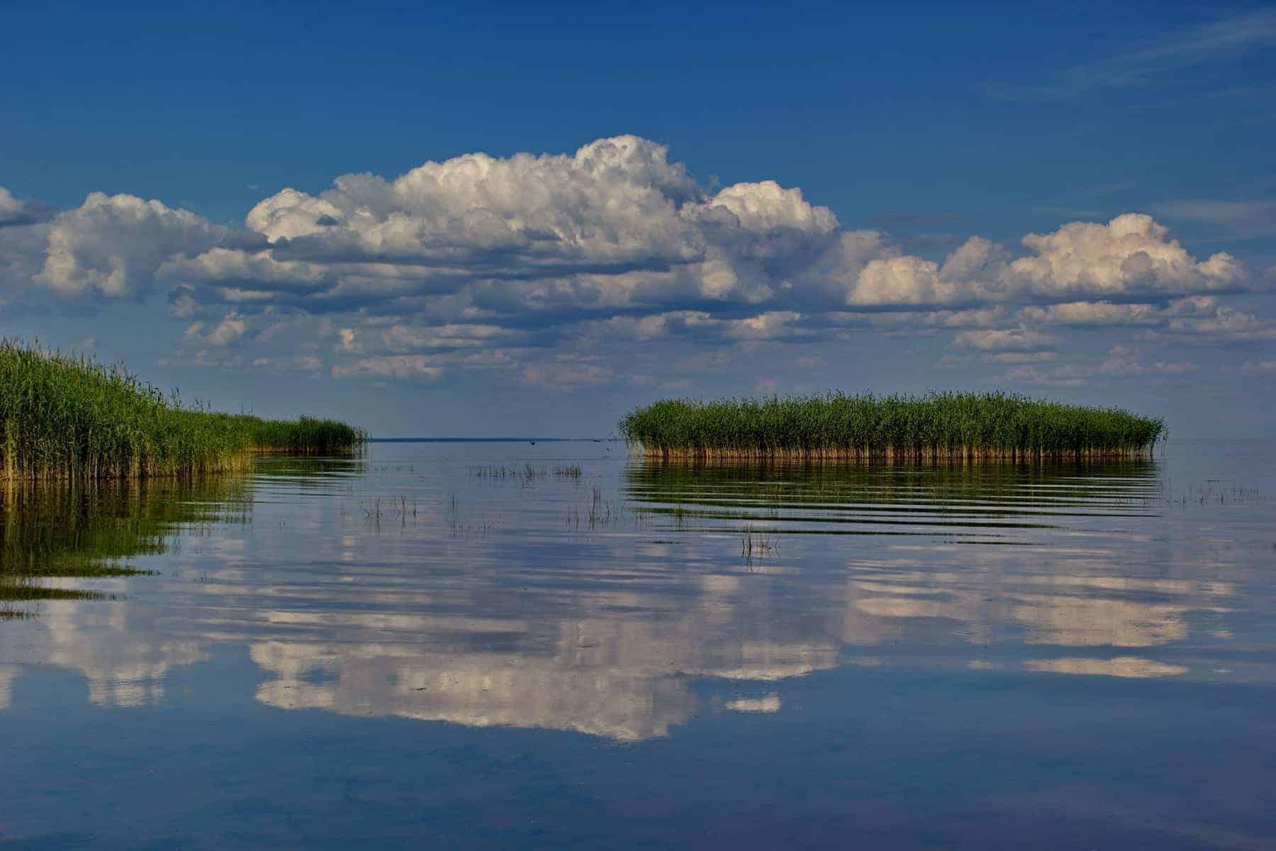 Estonien, Peipsi søen, utrolig smuk og stor sø