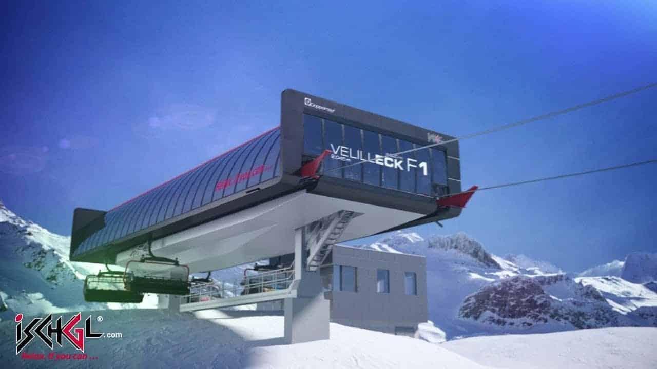 Ischgl Velilleck F1 ny lift 2019