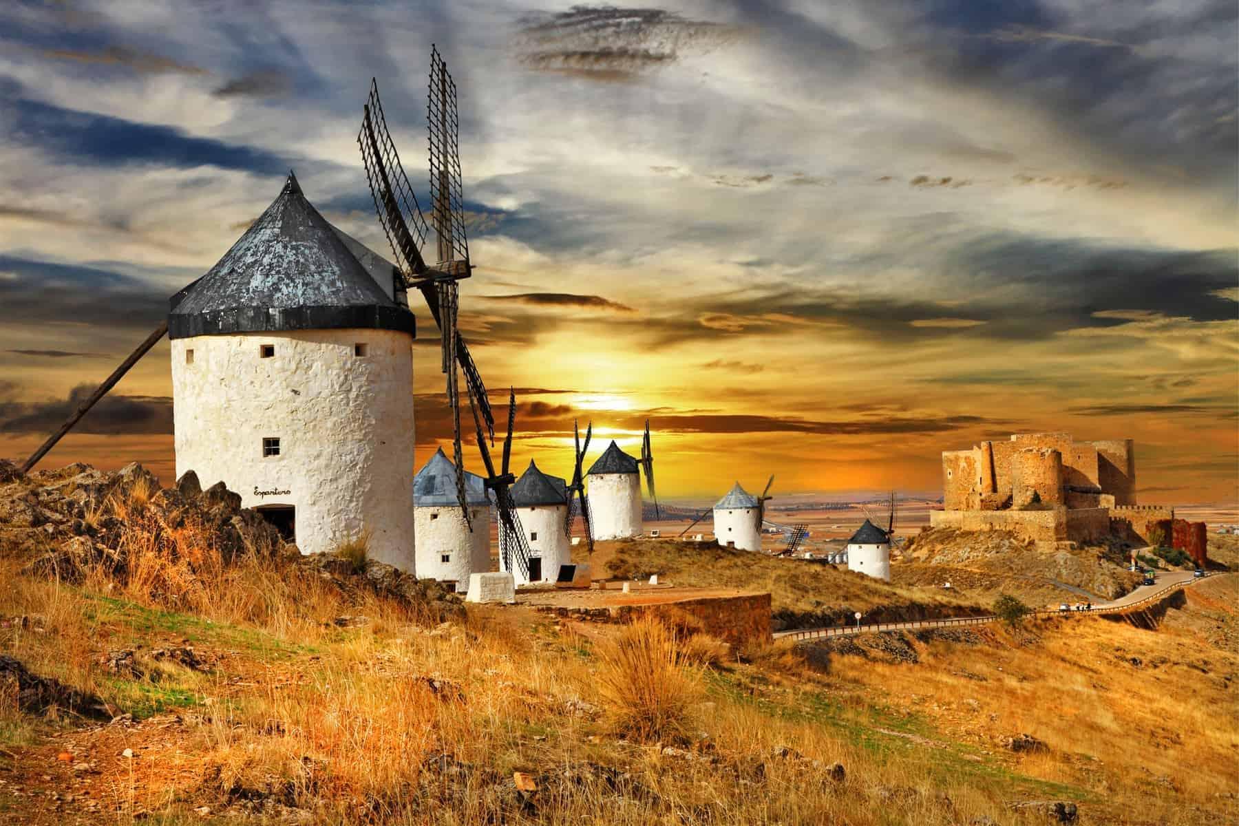 Spain windmilla