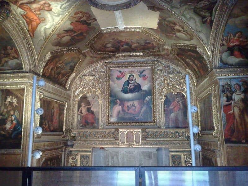 castel nuovo cappellaAnimePurgatorio