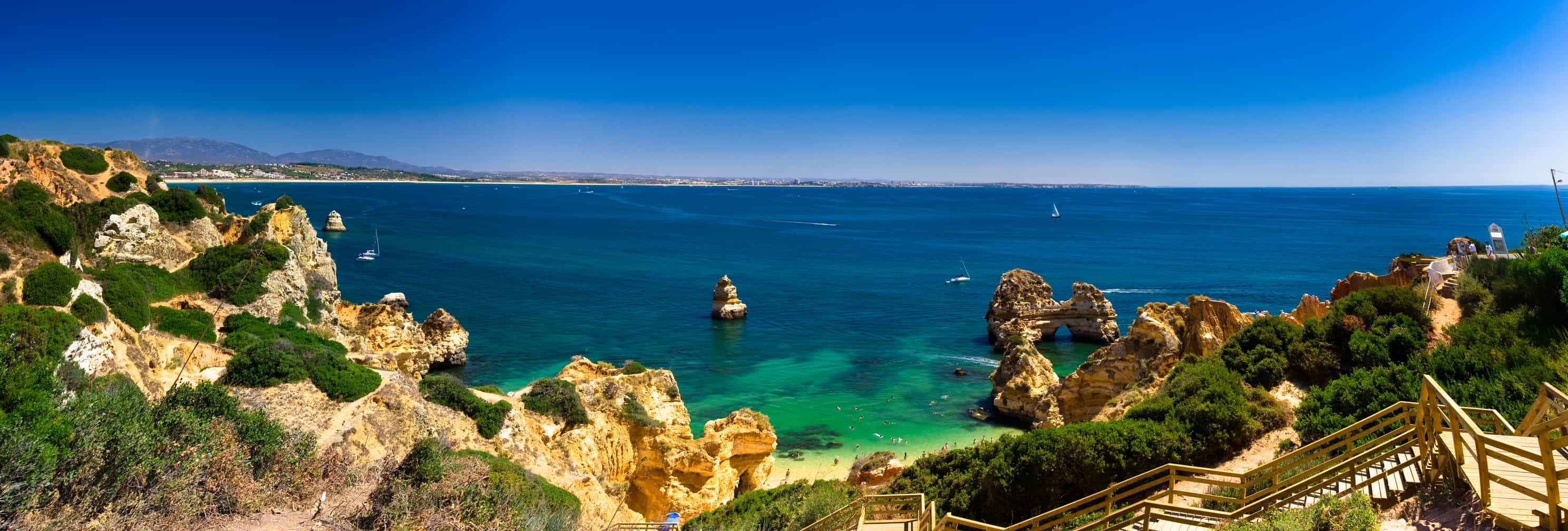 Algarve, a central part of Portugal