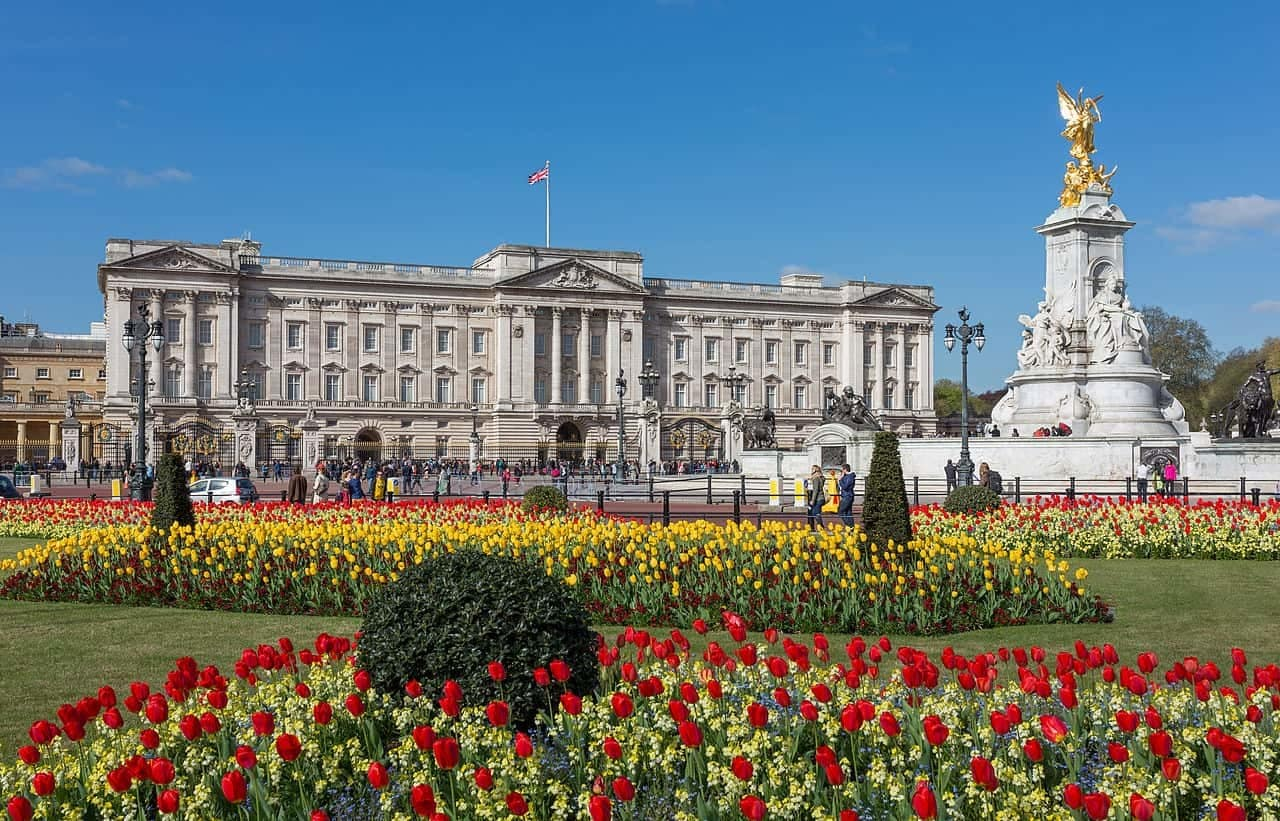 Buckingham_Palace_from_gardens,_London,_UK