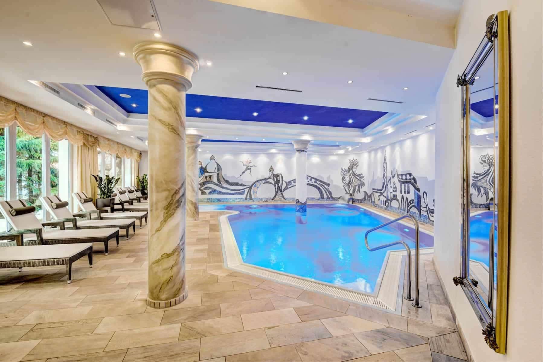 Hotel Brigitte, indendørs pool