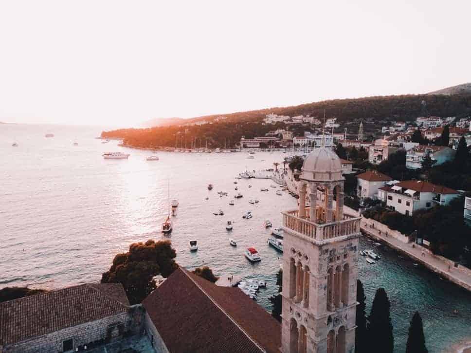 Hvad coastline, Dalamtien, Kroatien