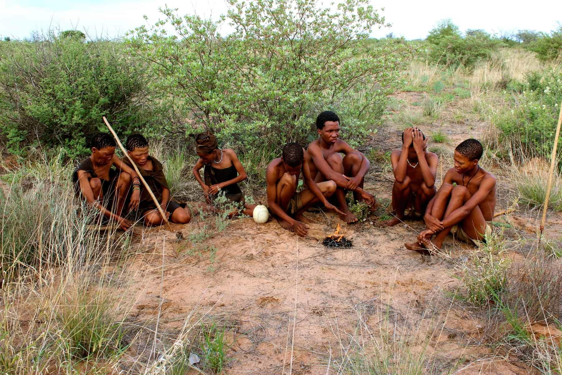 Botswana, San Bushmen