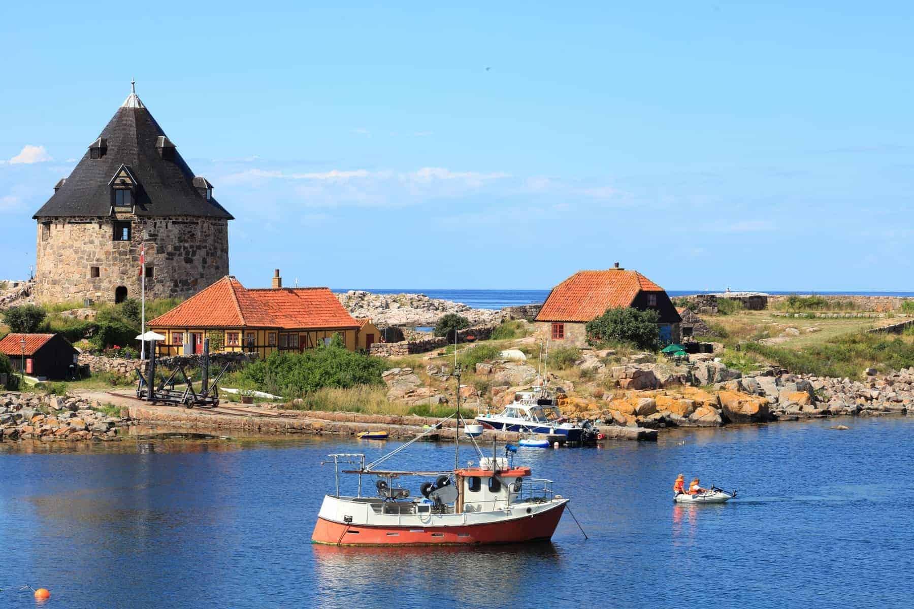 Fort på Christiansø Bornholm Denmark