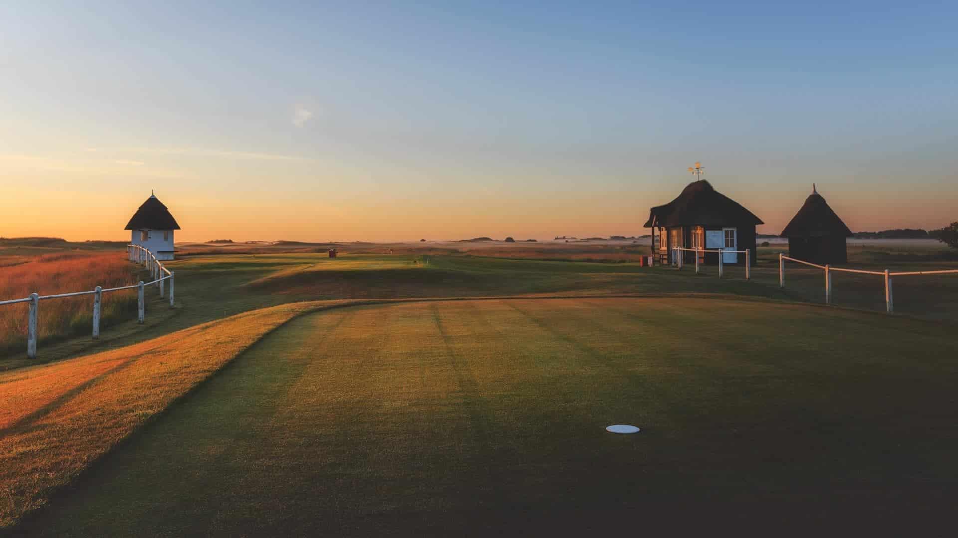 Bedste golfrejser til England. Royal-St-Georges-Golf-Club