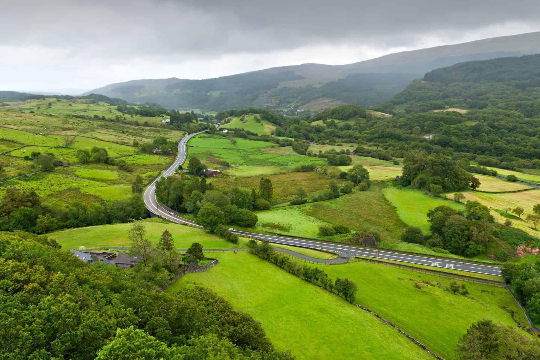 Nyt fra Wales. Rejser til Wales. Snowdonia, Wales