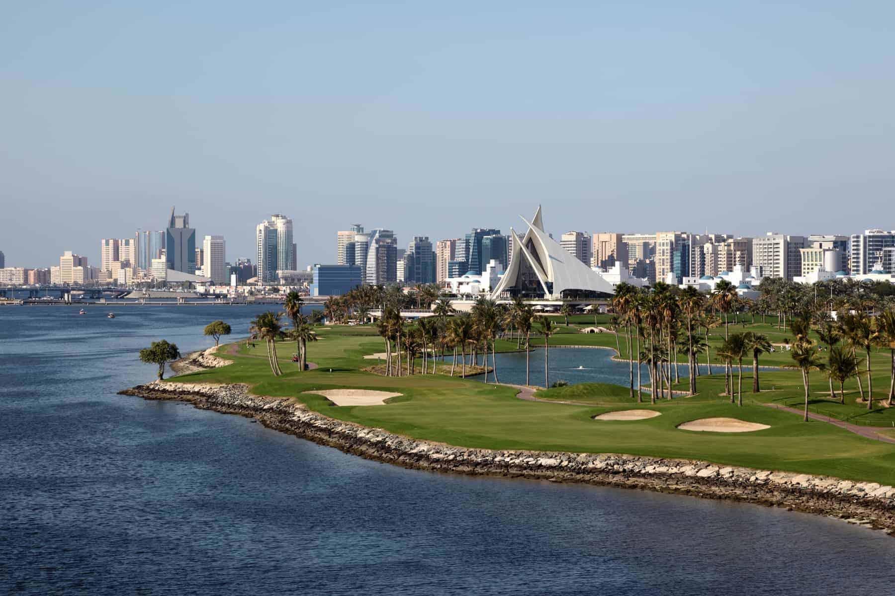 Dubai Creek Golf Course and Yacht Club. United Arab Emirates