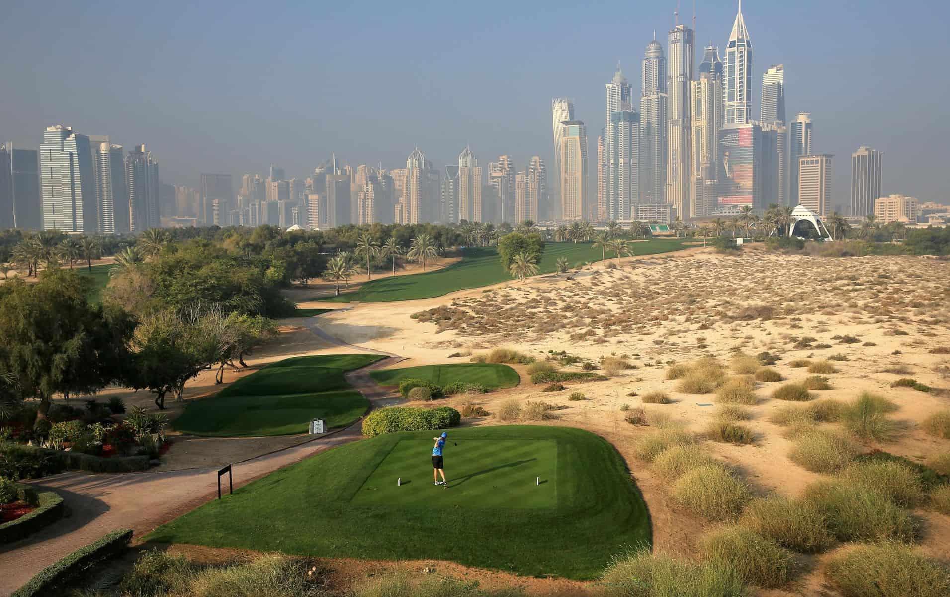 Emirates golf club, Majlis, Dubai