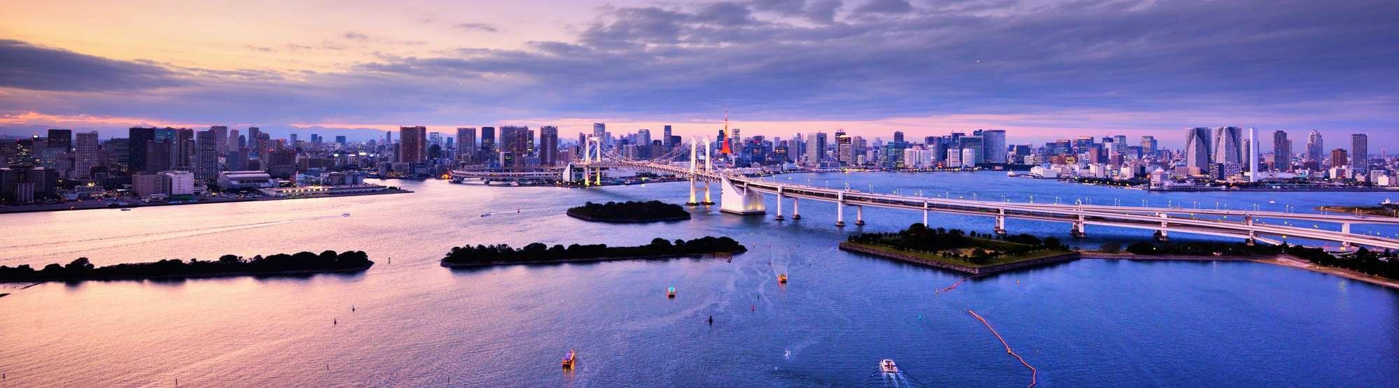 Tokyo Bay, Honshu, Japan, en af verdens største øer