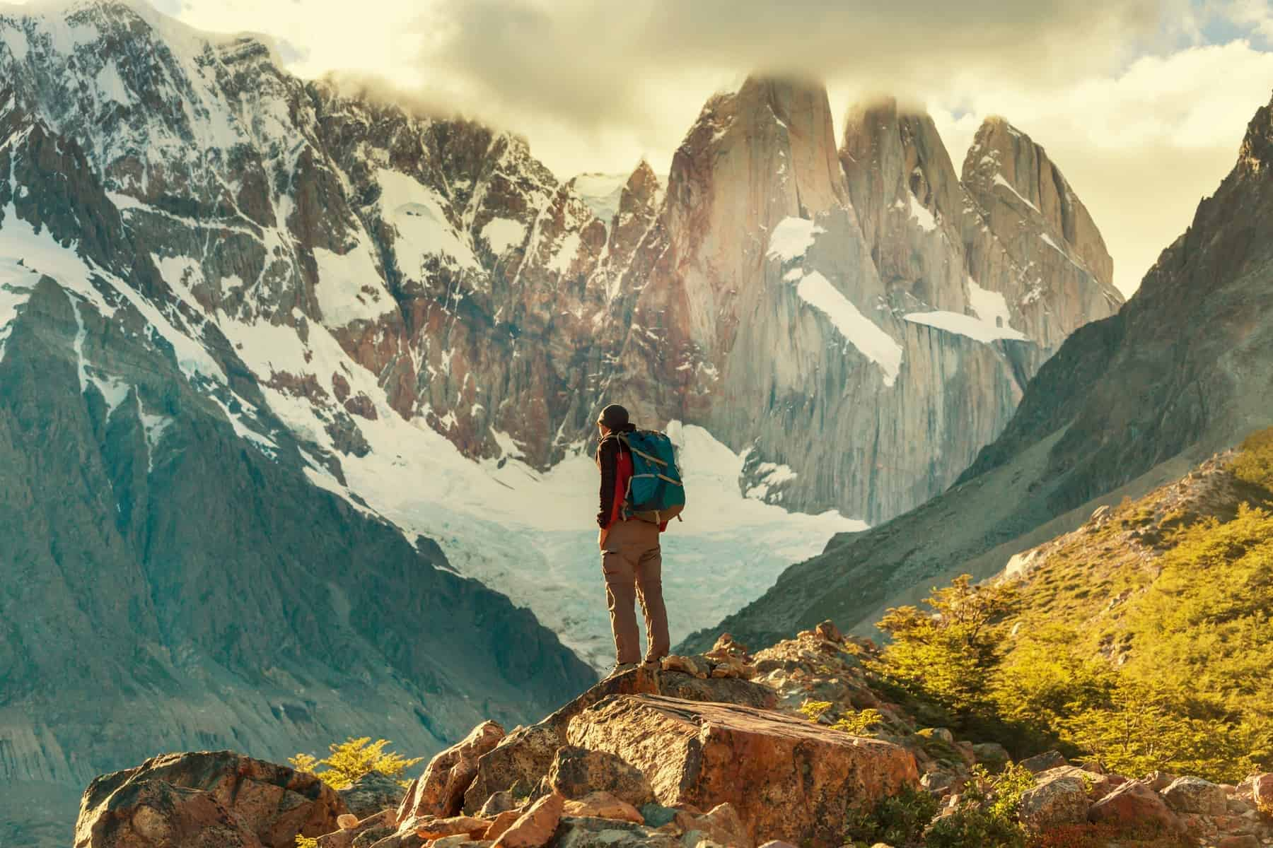 Backpacking in Patagonia