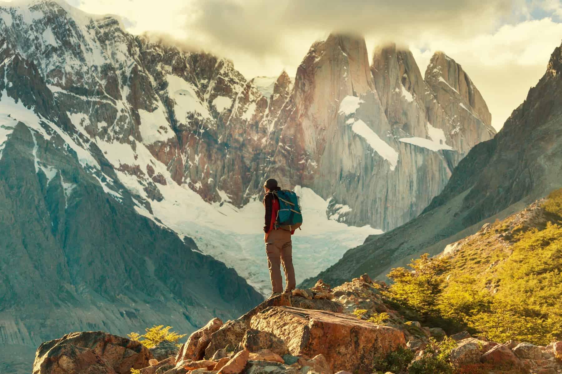 Backpacking in Patagonia
