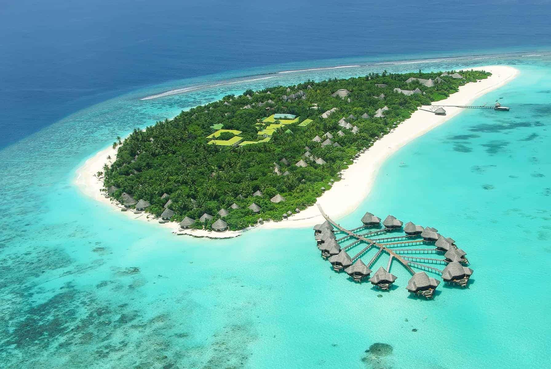 Rejser Maldiverne, snorkeling nær bungalows