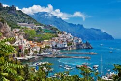 Luksusrejser. Amalfi kysten i Italen