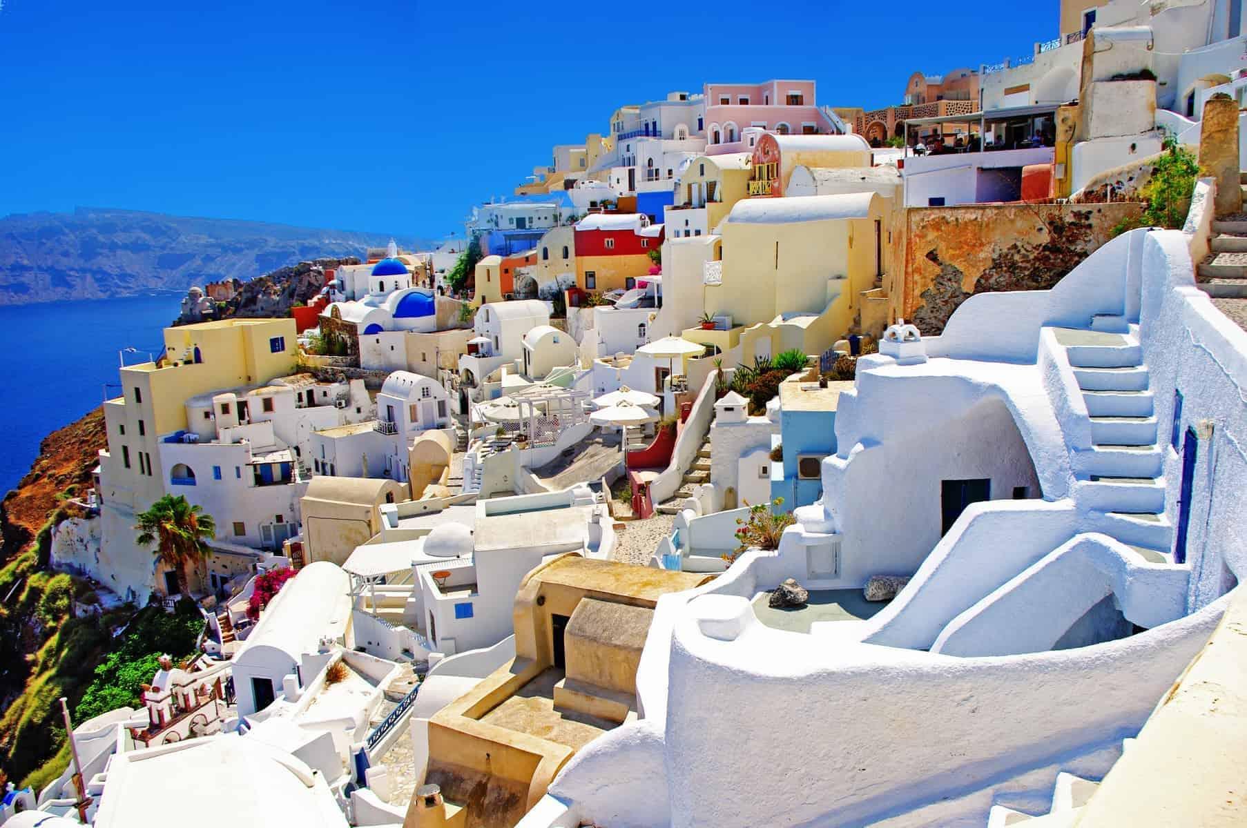 Santorini, så charmerende kan man bygge på en klippeside