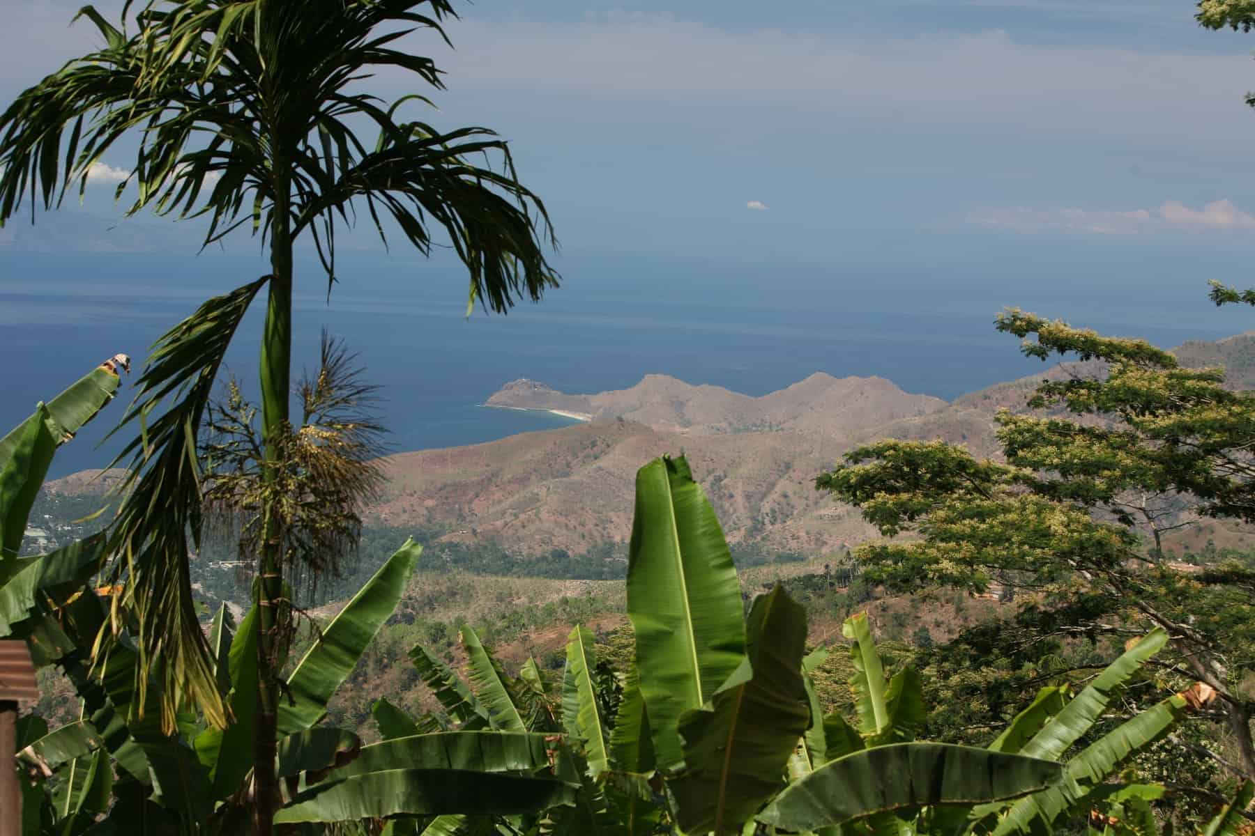 Dili in the south of East Timor in south east asia.