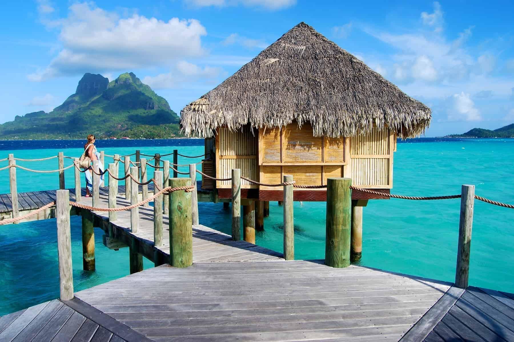 Bora Bora cabin on the water