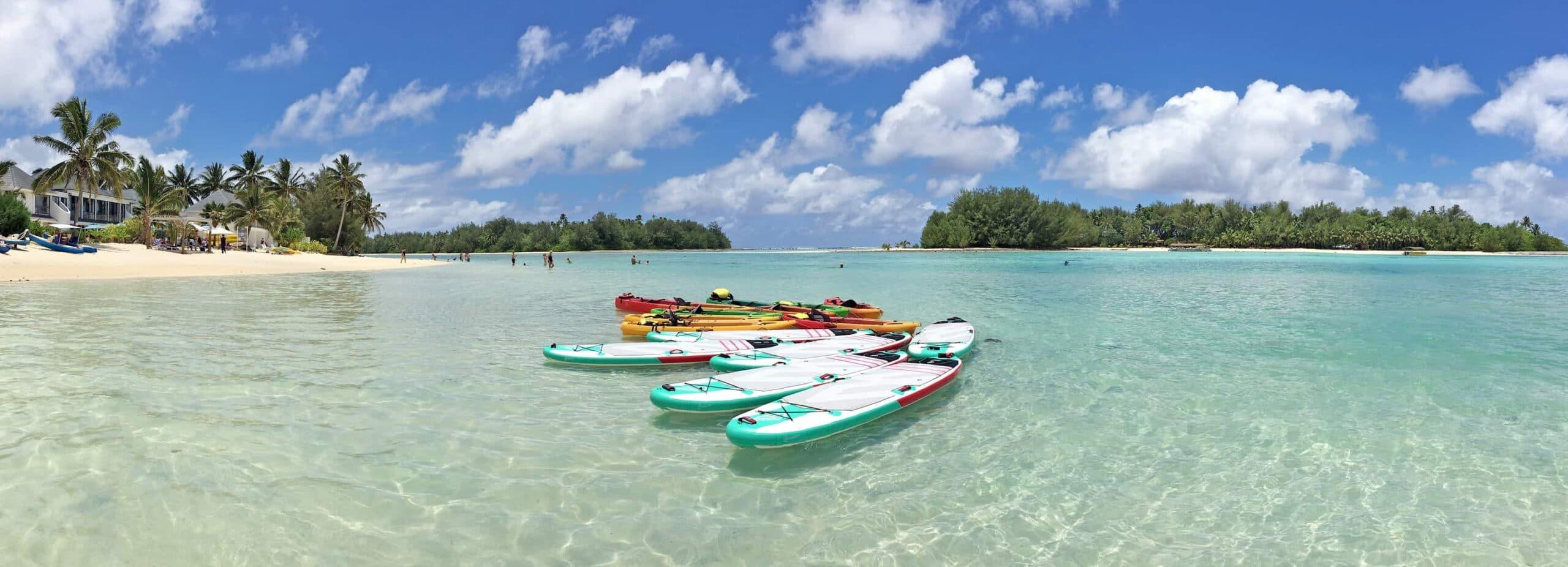 Rarotonga, Den blå lagune, Cook Islands