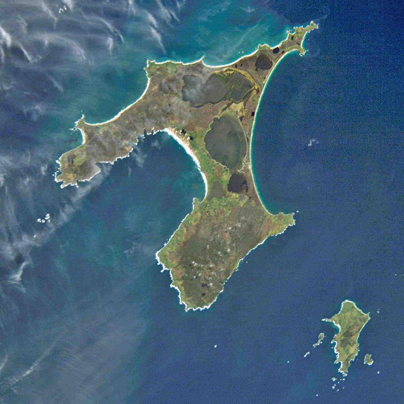 Chatham_Islands_luftfoto