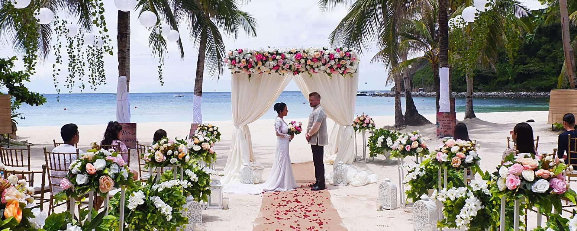 Fairways and Bluewater luxury resort, weddings, Boracay, Philippines