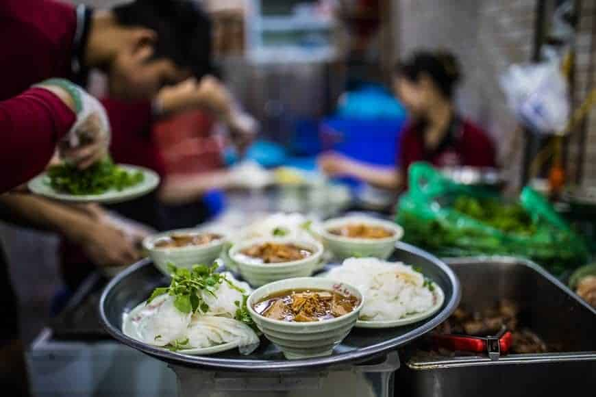 Hanoi Streetfood, one of the best ways to sample Vietnamese food