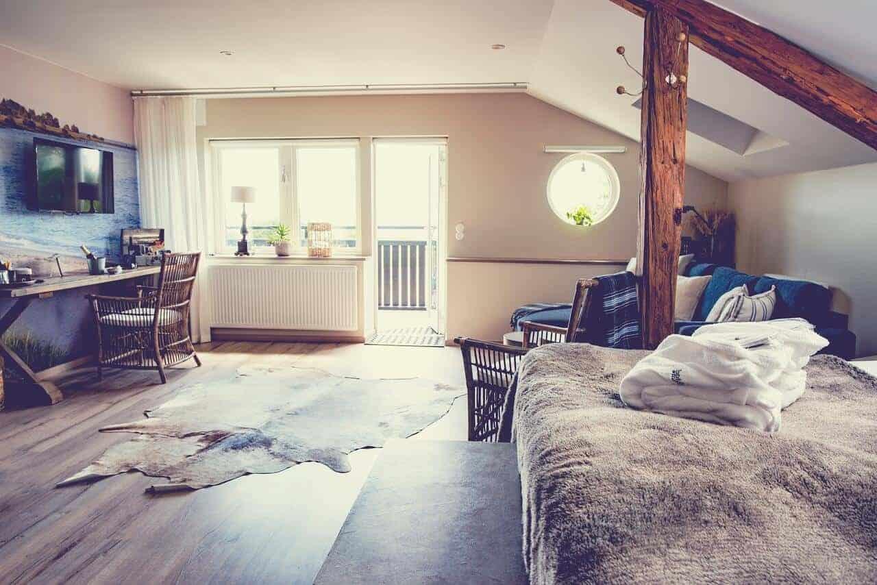 Mossbylund, Sverige værelse
