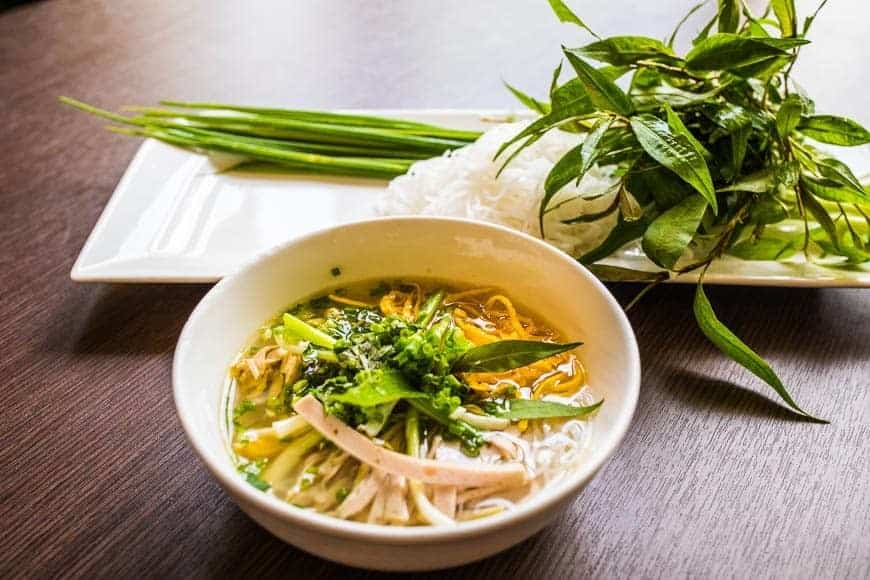 Bún Thang. Nord Vietnam bønnesuppe som prinsen lavede den