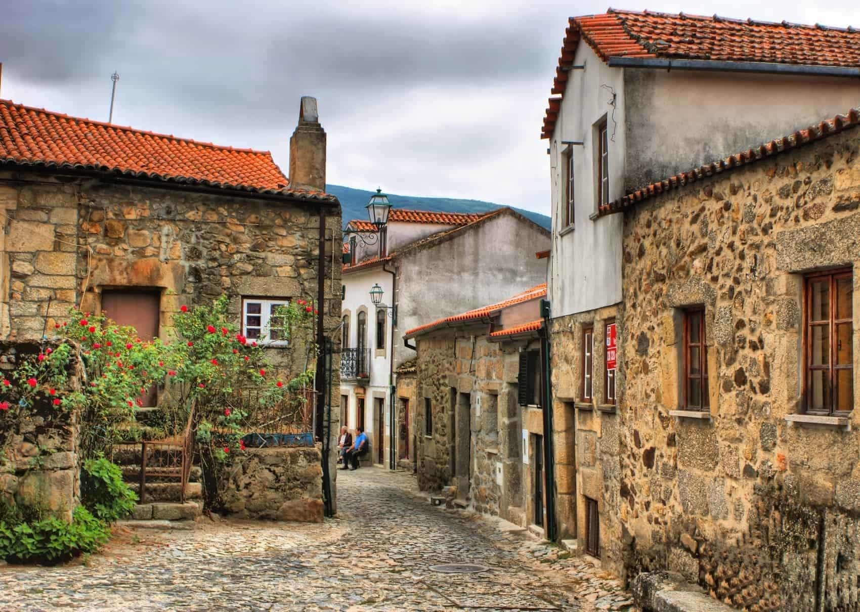 Old rural village of Linhares da Beira, Portugal